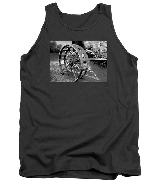 Tank Top featuring the photograph Frozen In Time by Steven Milner