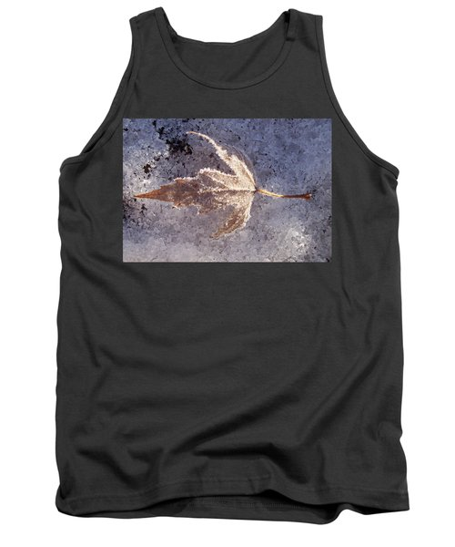 Frozen Leaf Tank Top
