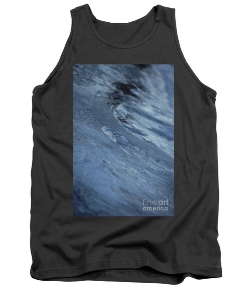 Tank Top featuring the photograph Frozen Wave by First Star Art