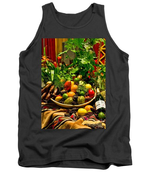 Tank Top featuring the photograph Fruit And Wine by Mae Wertz