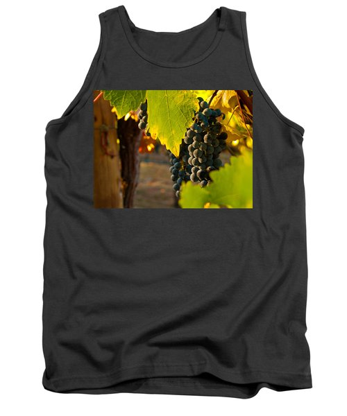 Fruit Of The Vine Tank Top by Bill Gallagher