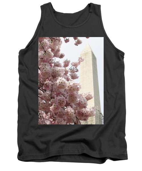 Full Bloom In Dc Tank Top by Jennifer Wheatley Wolf