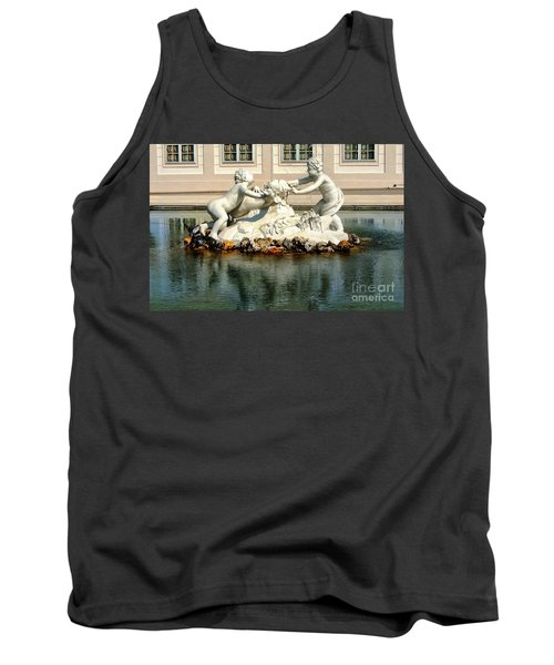 Tank Top featuring the photograph Fun On The Water by Mariola Bitner