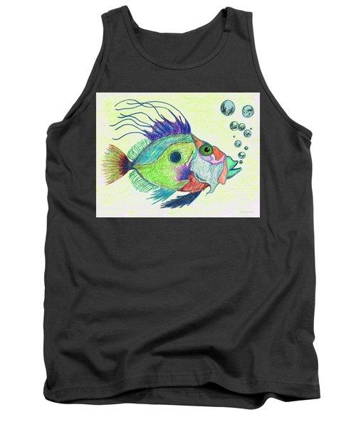 Funky Fish Art - By Sharon Cummings Tank Top