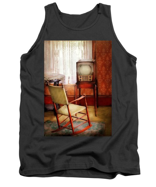 Furniture - Chair - The Invention Of Television  Tank Top