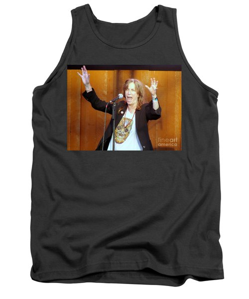 Tank Top featuring the photograph G-l-o-r-i-a by Ed Weidman