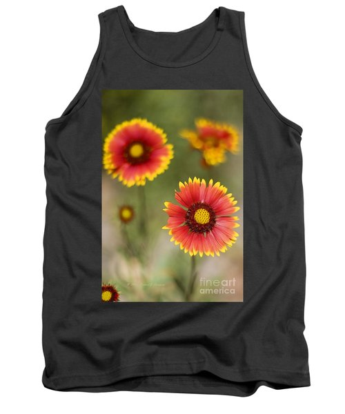 Gaillardia 'arizona Sun' Tank Top