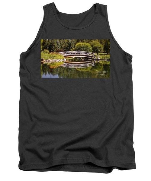 Garden Bridge Tank Top by Linda Bianic