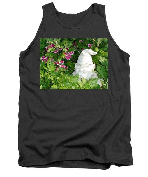 Garden Gnome Tank Top