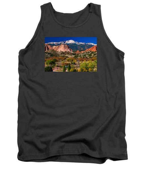Garden Of The Gods In Autumn 2011 Tank Top
