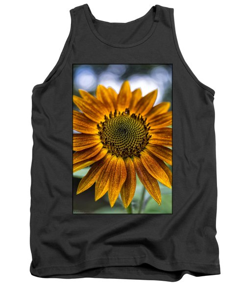 Garden Sunflower Tank Top