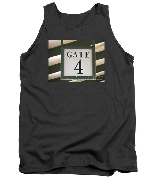 Tank Top featuring the photograph Gate #4 by Joy Hardee