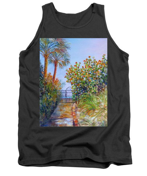 Gateway To Paradise Tank Top by Lou Ann Bagnall