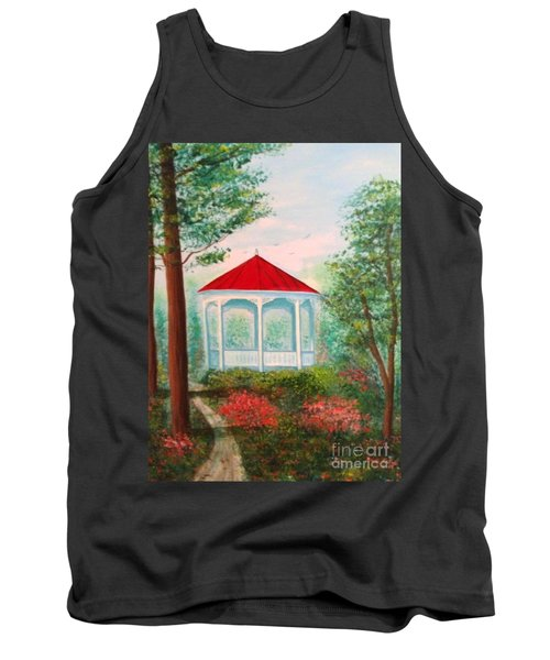 Gazebo Dream Tank Top by Becky Lupe