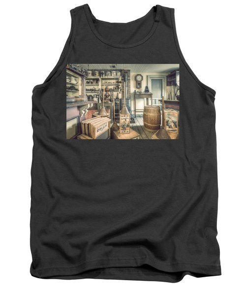 General Store - 19th Century Seaport Village Tank Top