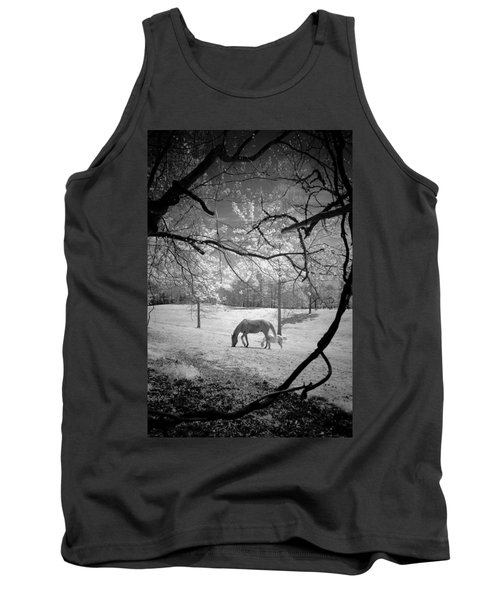 Georgia Horses Tank Top by Bradley R Youngberg