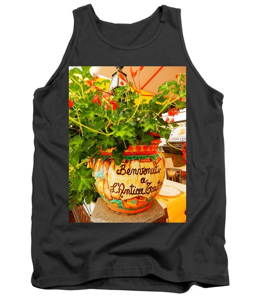 Geranium Planter Tank Top