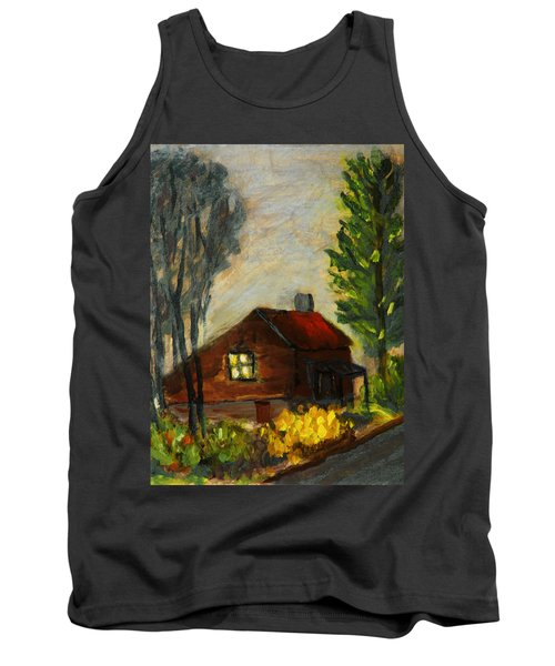 Getting Home At Twilight Tank Top by Michael Daniels