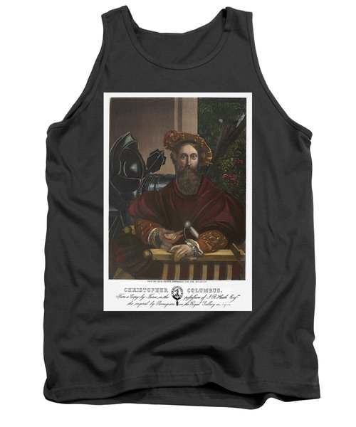 Tank Top featuring the painting Gian Galeazzo Sanvitale by Granger