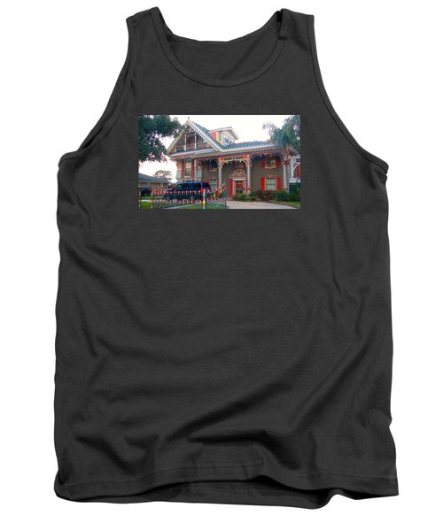 Gingerbread House - Metairie La Tank Top