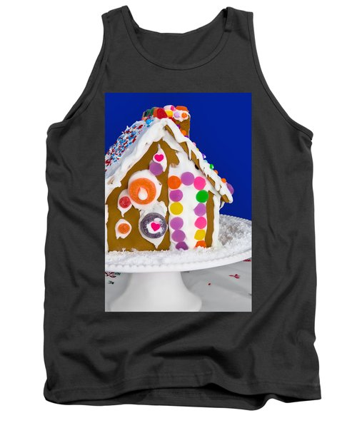Tank Top featuring the photograph Gingerbread House by Vizual Studio