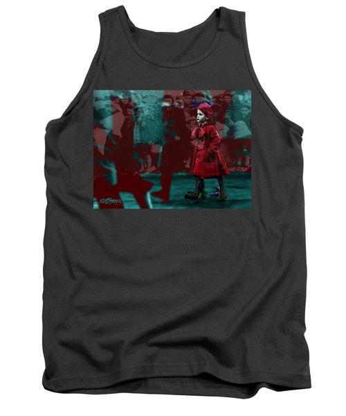 Girl In The Blood-stained Coat Tank Top by Seth Weaver