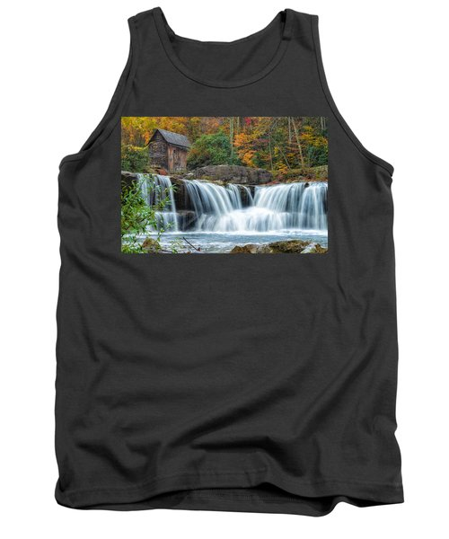 Glade Creek Grist Mill And Waterfalls Tank Top