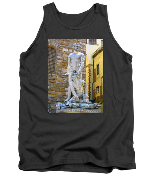 Glance At Hercules And Casus Tank Top
