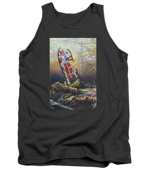 Glass Dove Tank Top by Jack Malloch