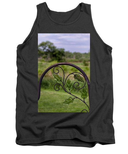 Glass Leaves Tank Top