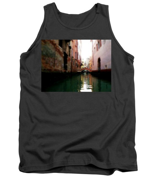 Gliding Along The Canal  Tank Top by Micki Findlay