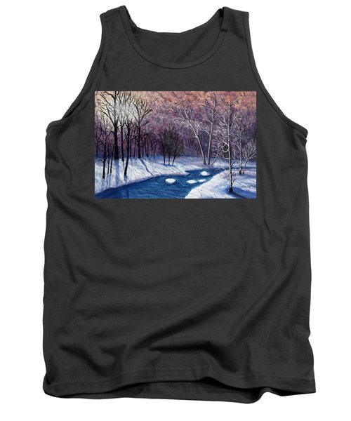 Glistening Branches Tank Top