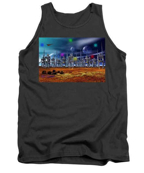 Tank Top featuring the photograph Gloeroxz by Mark Blauhoefer