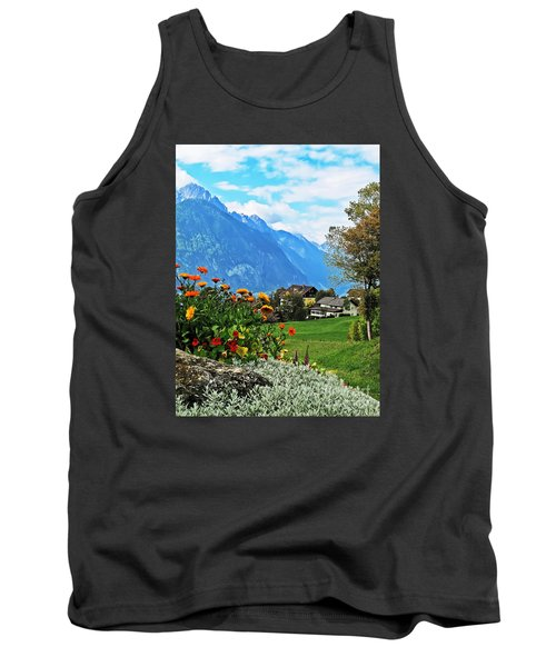 Glorious Alpine Meadow Tank Top