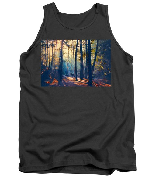 Glorious Forest Morning Tank Top by Diane Alexander