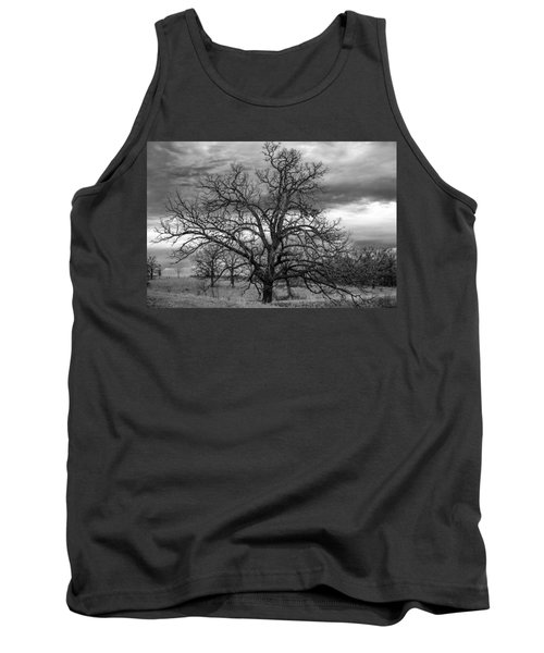 Tank Top featuring the photograph Gnarly Tree by Sennie Pierson