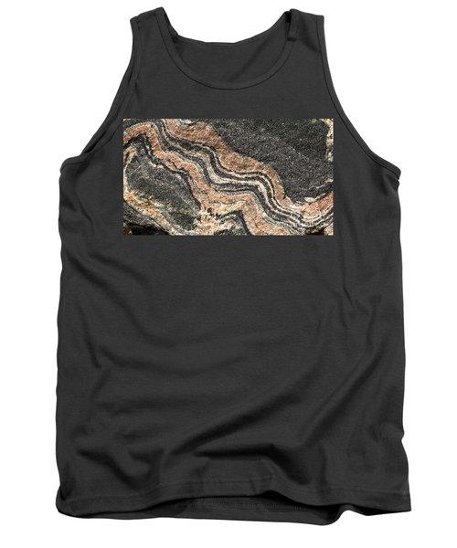 Gneiss Rock  Tank Top by Les Palenik