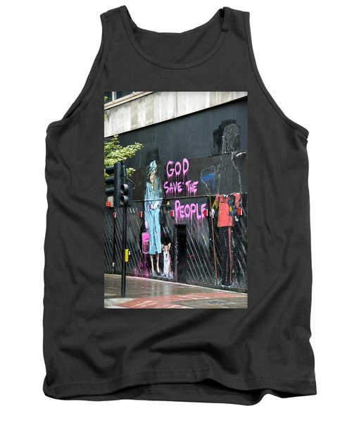 God Save The People Tank Top