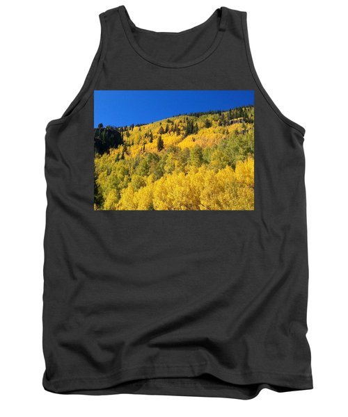 Tank Top featuring the photograph Going Gold by Fortunate Findings Shirley Dickerson