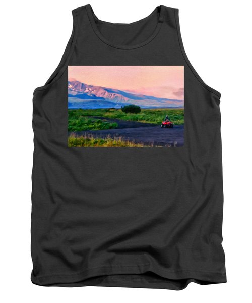 Going To School Cold Bay Style Tank Top