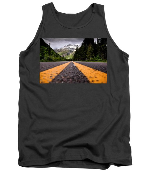 Going To The Sun Tank Top by Aaron Aldrich