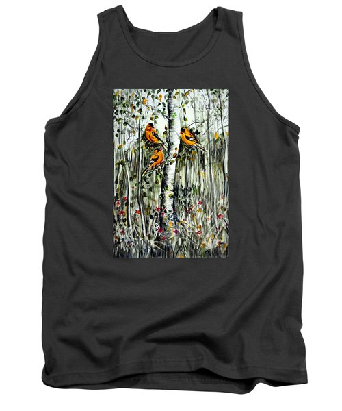 Gold Finches Tank Top