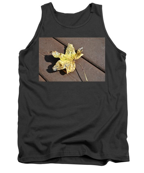 Gold Leaf Tank Top