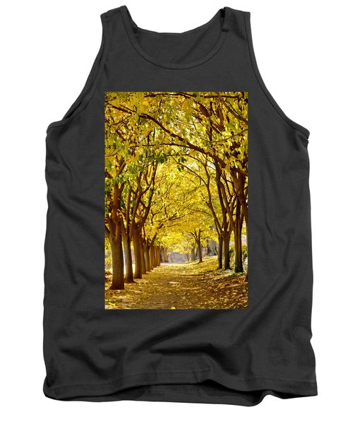 Golden Canopy Tank Top