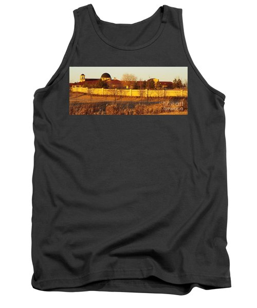 Golden Carmel Tank Top
