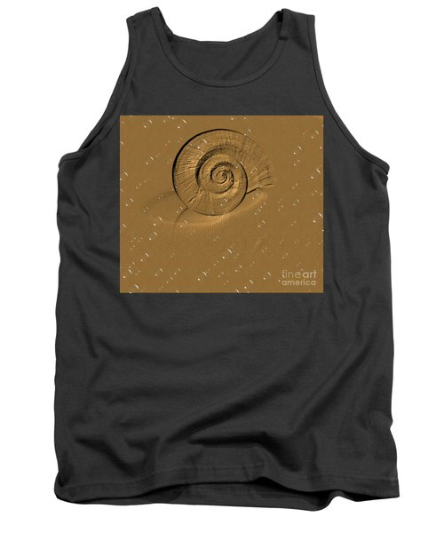 Golden Fantasy. Shell. Abstarct. Beautiful Home Collection 2015 Tank Top