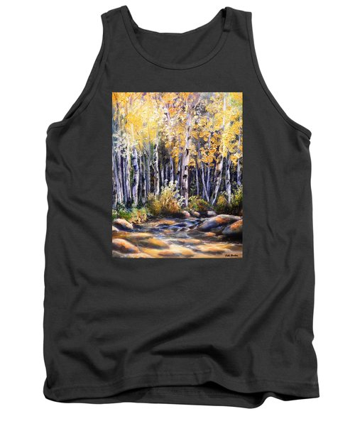 Golden Glow Tank Top by Patti Gordon