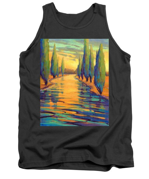 Golden Silence 3 Tank Top
