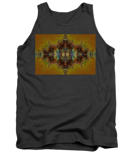 Golden Tapestry Tank Top