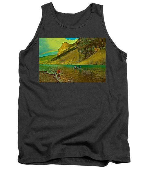 Golden Voyage Tank Top by Jim Hogg